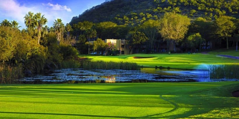 Sun City Golf Break Gary Player Lost City SOHO Cabanas Cascades Palace Nedbank Challenge Valley of the Waves Course 1